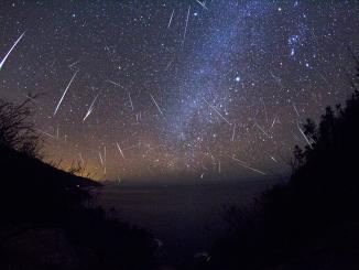 Sciame meteorico delle Orionidi - cielo di Ottobre
