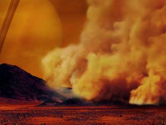 Tempeste di sabbia su Titano