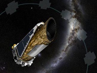 Rappresentazione artistica di Kepler. Credit NASA