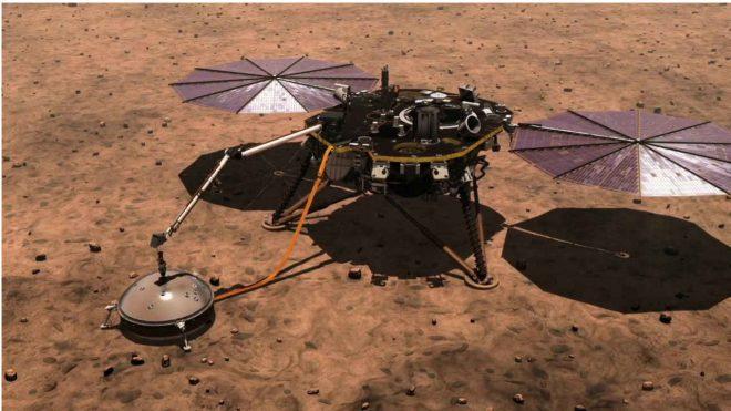 Il lander InSight della NASA