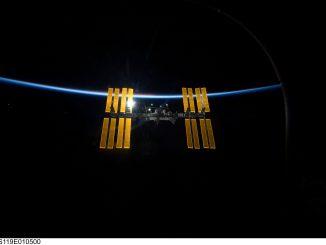 La stazione spaziale internazionale -Credit NASA