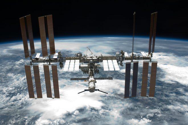 La stazione spaziale ISS- Credit NASA