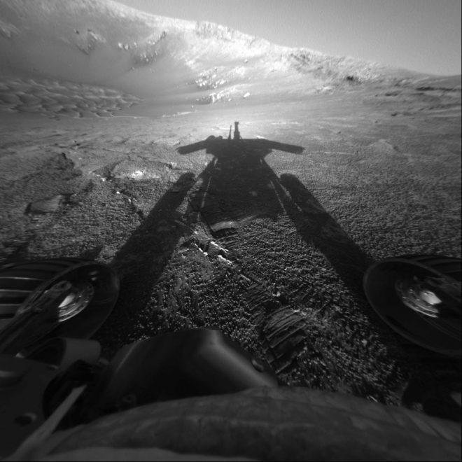 Opportunity NASA al sol 180 (26 luglio 2004)