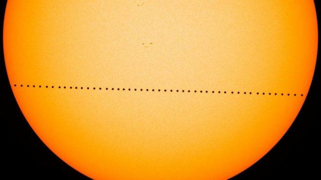 Transito di Mercurio sul Sole dell'11 Novembre
