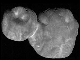 2014 MU69 nella foto APOD del 28 febbraio