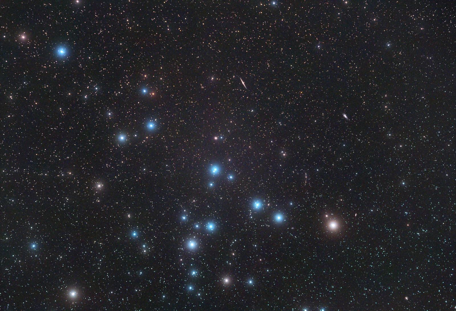Il cielo del mese Melotte-111