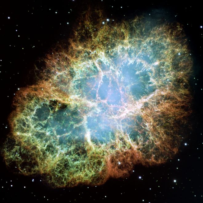 La Nebulosa Granchio, resto di una Supernova
