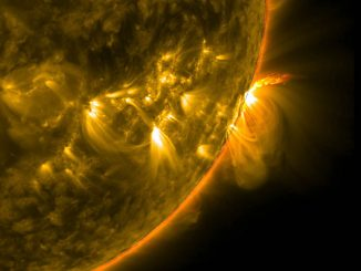 Immagine del Sole dalla sonda SDO