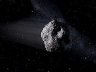 Rappresentazione artistica di un asteroide NEO