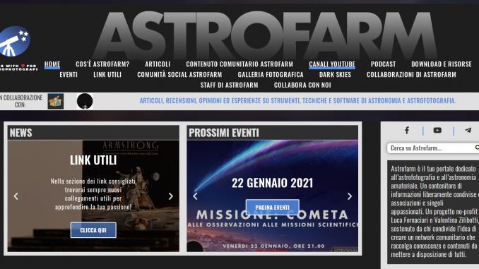 Il sito di Astrofarm