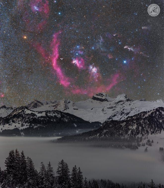 Oltre la nebbia - Credits: Ralf Rohner - vincitore APOD del 27 Marzo 2021
