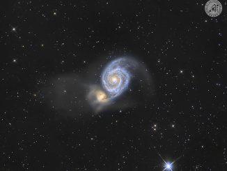 La Galassia Vortice M51