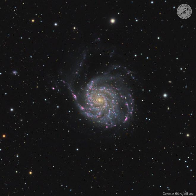 M101 – UNA GIRANDOLA NELL'ORSA MAGGIORE - Gerardo Sbarufatti - vincitore APOD del 13 Maggio 2021