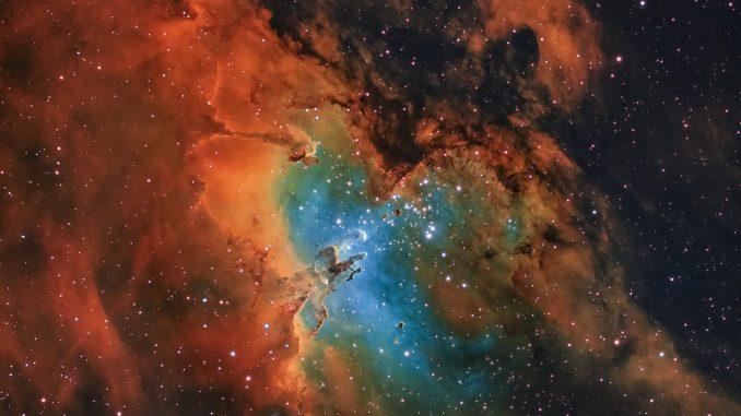 Nebulosa Aquila e Pilastri della Creazione