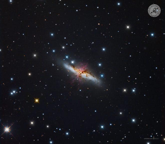 GALASSIA SIGARO M82 - Josè Carballada - vincitore APOD del 23 Giugno 2021